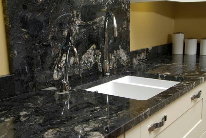 Beautiful Black Forest Granite