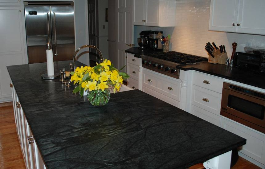 Beautiful Soap Stone Counters