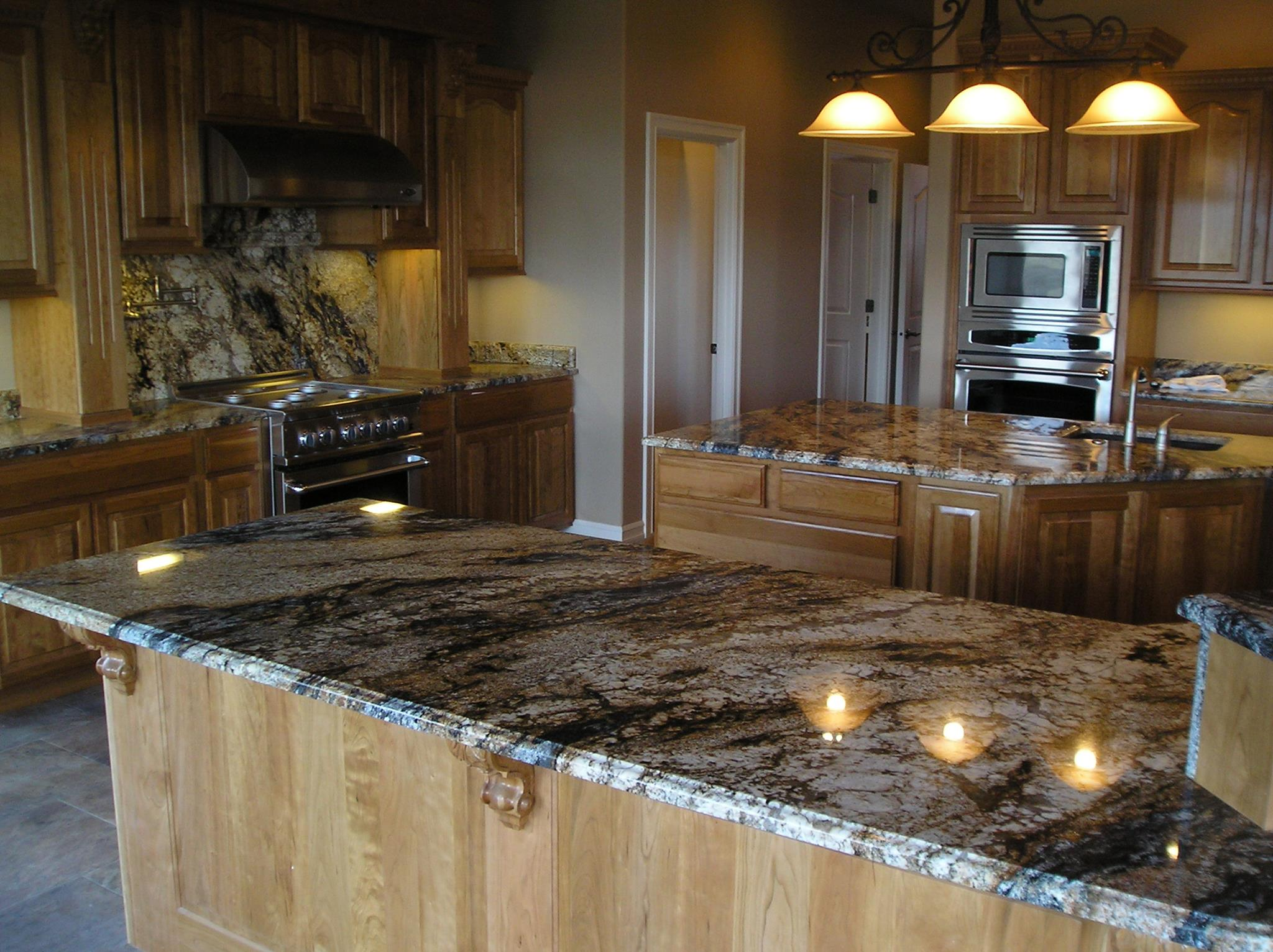 Do you like Granite Tops with lots of Character